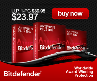 40% Discount of BitDefender AV and IS 2012