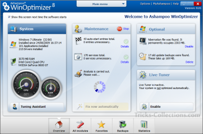 Ashampoo WinOptimizer 8 Full Version