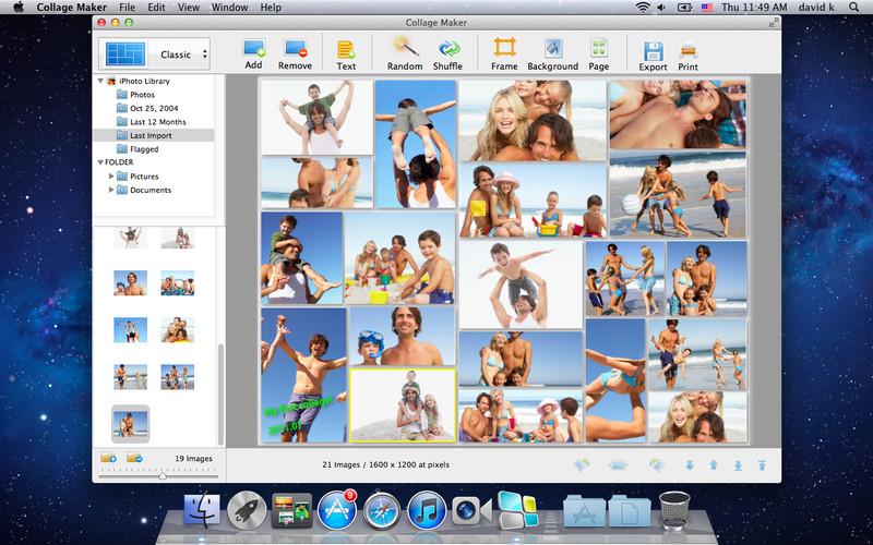CollageIt for Mac Screenshot