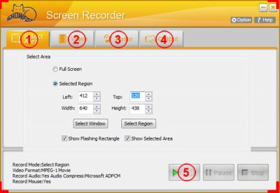 SnowFox Screen Recorder