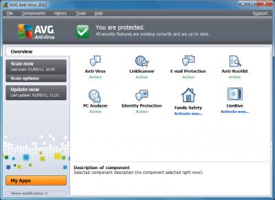 AVG Anti-Virus 2012 Overview