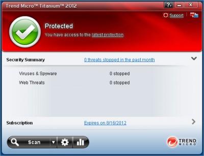 Trend Micro Titanium Antivirus 2012