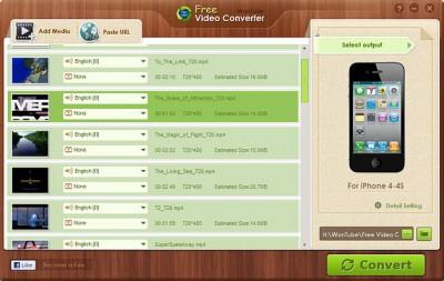 WonTube Free Video Converter for Windows