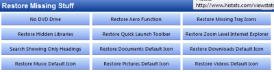 7 Quick Fix restore missing stuff