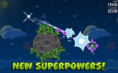 Angry Birds Space - New superpowers