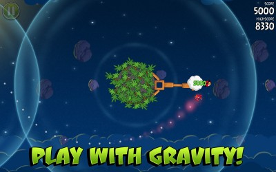 Angry Birds Space - Play with gravity