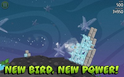 Angry Birds Space - new bird