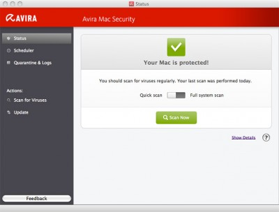 Avira Mac Security Free Avira for Mac