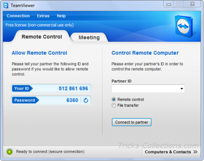 Team Viewer free remote software
