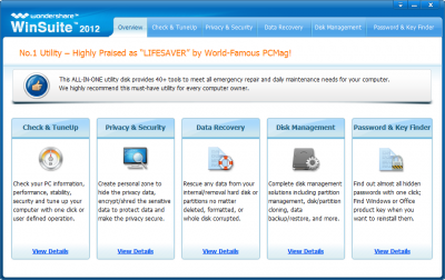 Wondershare WinSuite 2012 Overview