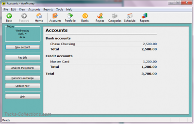 AceMoney Lite Free Personal Finance Software