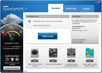 New SpeedUpMyPC 2012 Overview