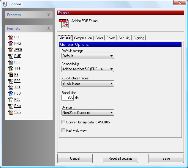 PDFCreator 1.4.0 - Easy Way and Quickly to Create PDF Files