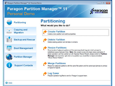 Review - Partition Manager Personal Edition