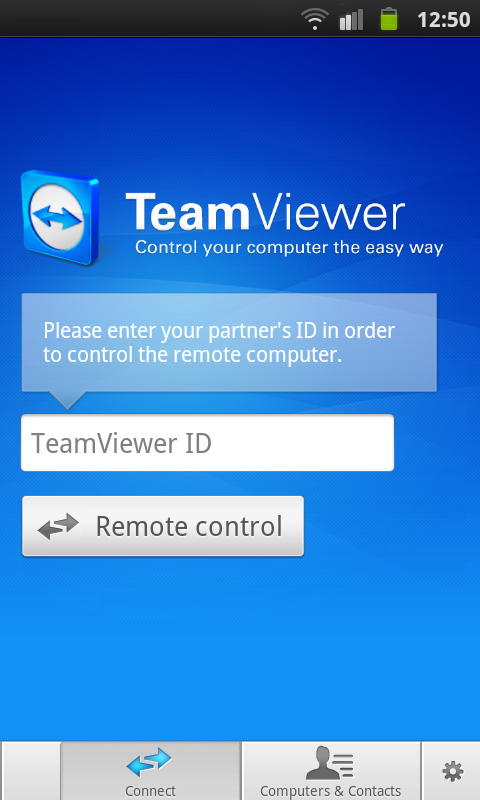 Free TeamViewer for Android Mobile