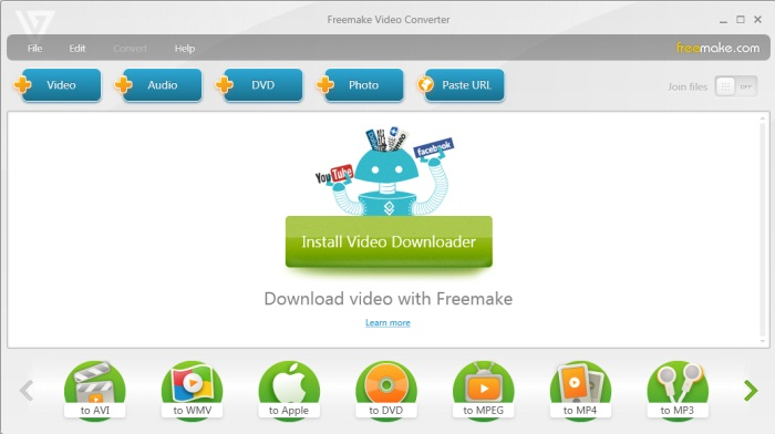 Review - Freemake Video Converter