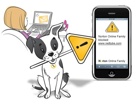 How To Block Adult Sites For Child Mobile Phones Android-Based with Norton Safety Minder