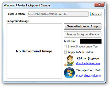 How to Change Windows 7 Folder Background 2