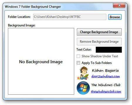 How to Change Windows 7 Folder Background 2