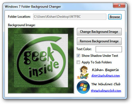 How to Change Windows 7 Folder Background 6