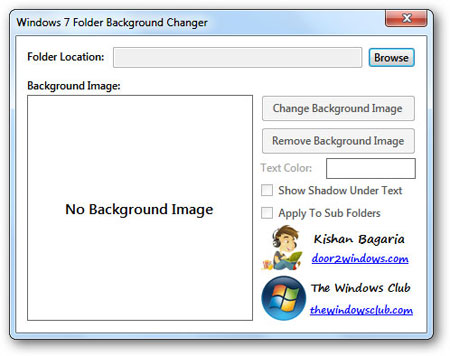 How to Change Windows 7 Folder Background