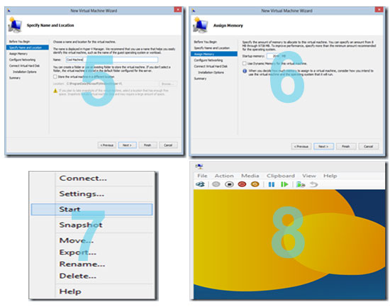 How to Setup Virtualization on Windows 8 Using Hyper V 2