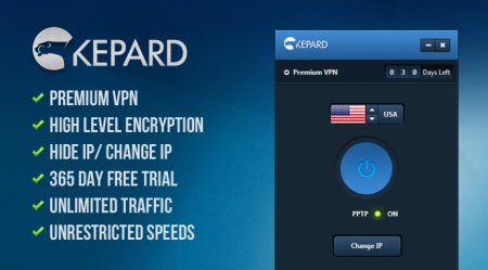 How to Get Top VPN Services for Free - Kepard is Happy to Give 10 Premium VPN Accounts Away for Free