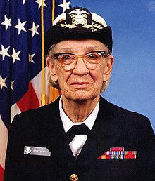 Grace Hopper (1906-1992) - Five Prominent Women in Technology from Times to times