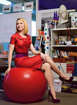 Marissa Mayer (1975 - present) - Five Prominent Women in Technology from Times to times