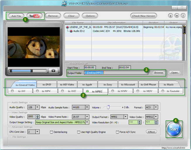 Convert Videos with WinX HD Video Converter Deluxe and Get it for Free