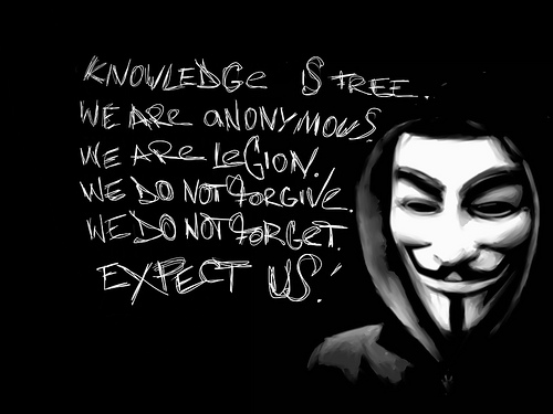 Anonymous Claims Harms Israel Sites About 3 Billion Dollars
