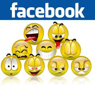 Facebook Provide Moving Emoticons