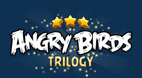 Angry Birds Trilogy is Present on Nintendo Wii