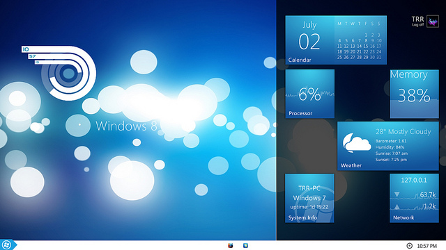 The Start Button Appears Again in Windows 8.1