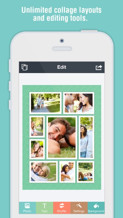 CollageIt Free 2.0 for iOS – Tell a Story with Marvelous Collages on iOS