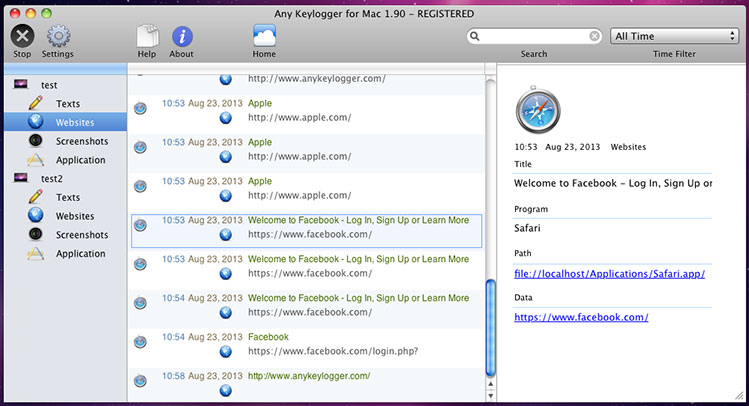 Anykeylogger for Mac Review