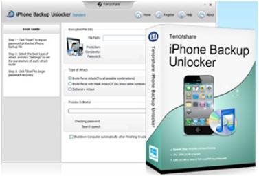 Review - Tenorshare iPhone Backup Unlocker
