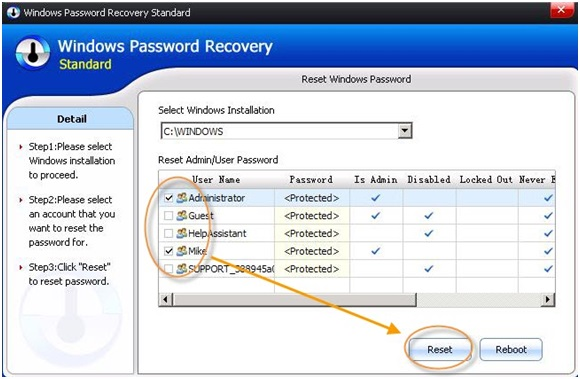 SmartKey Windows Password Recovery – Recover Lost Password on Windows OS