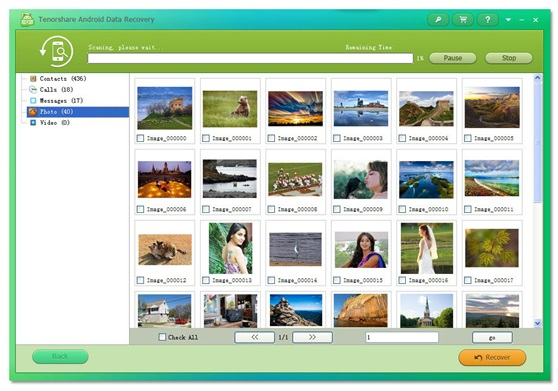 Tenorshare Android Data Recovery-Recover Photos, Contacts, Text Messages, Call History and Videos from Android