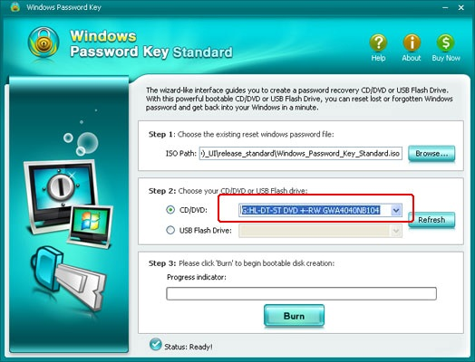 Windows Password Key– Easy to Reset Windows Password
