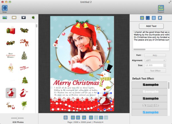 iGreetingCard Holidays – Turn Photo into Beautiful Greeting Card