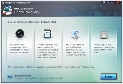 Recover Your Lost Media files with Wondershare Photo Recovery Software 2