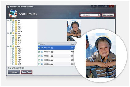 Recover Your Lost Media files with Wondershare Photo Recovery Software 4