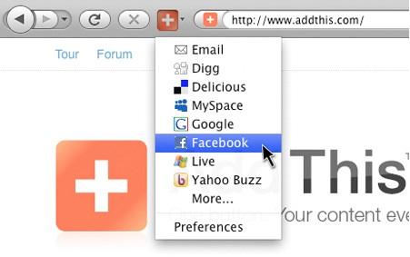 Top 5 Firefox Social Add-ons