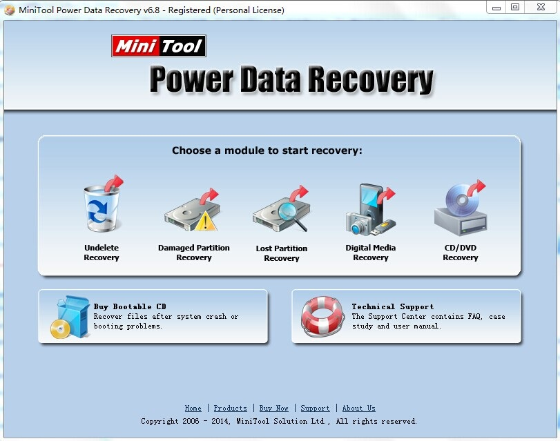 License Giveaway for MiniTool Power Data Recovery