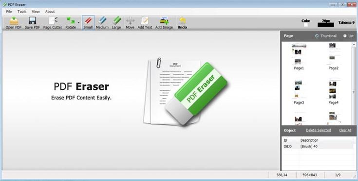 PDF Eraser Pro Giveaway - Get Free License of the Powerful PDF Erasing Tool