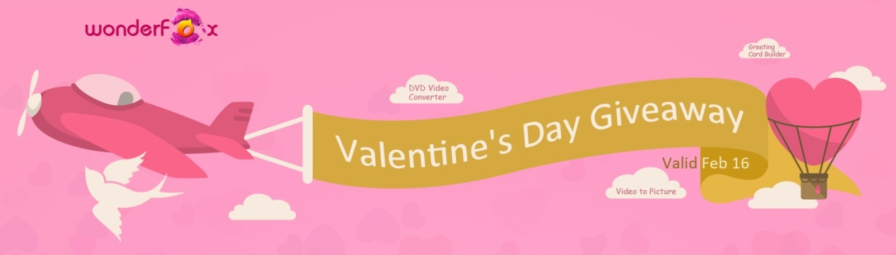 3 Popular Software Giveaway for Valentine's Day