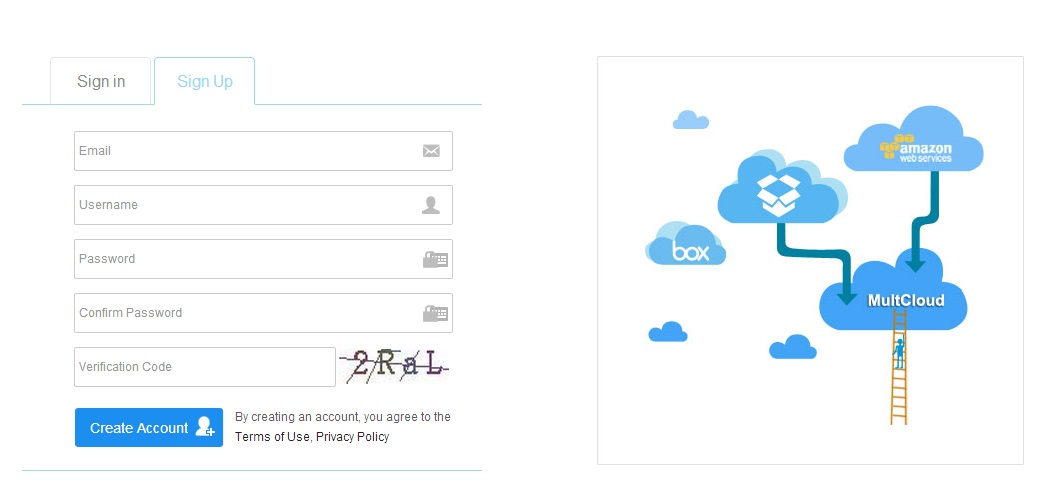 AOMEI Technology Developed an Free Online APP - MultCloud