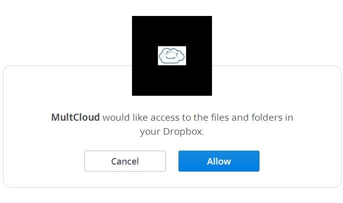 MultCloud - Dropbox