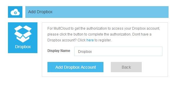 add dropbox